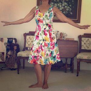 Ralph Lauren flower dress size 8